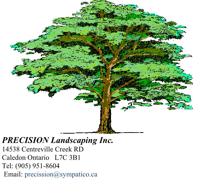 PRECISION Landscaping Inc.